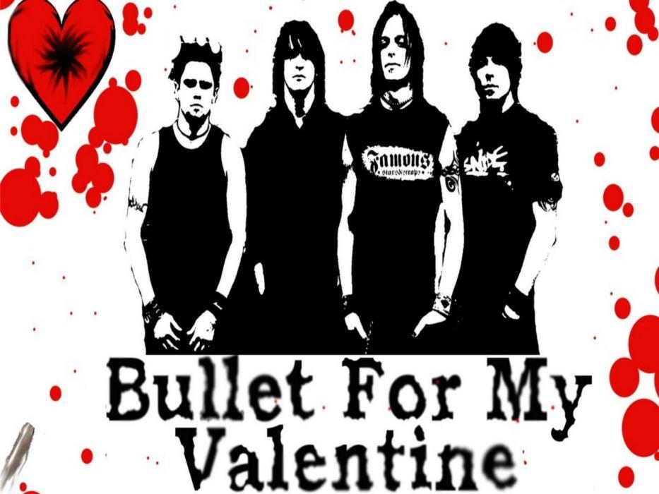 BULLET FOR MY VALENTINE heavy metal metalcore (45) wallpaper