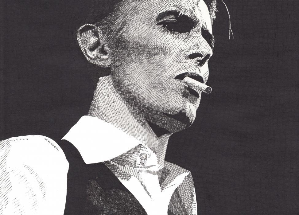 DAVID BOWIE glam rock pop (3) wallpaper