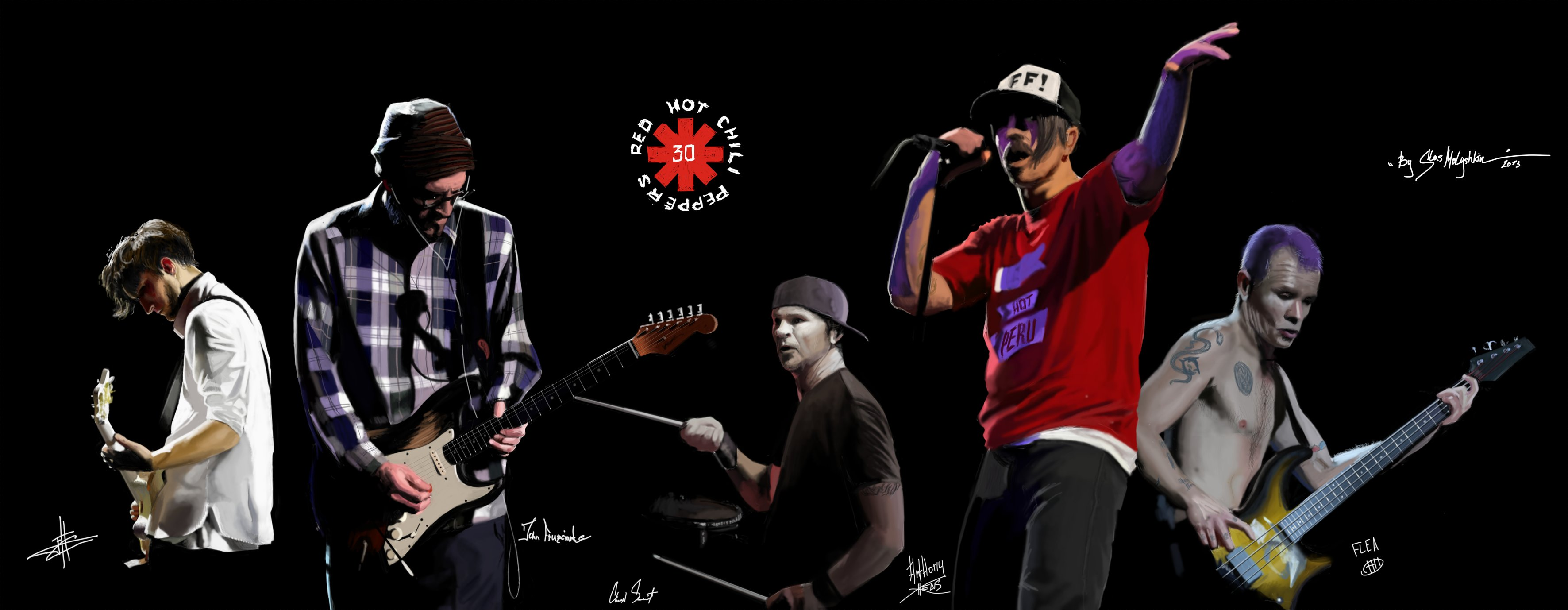 Red Hot Chili Peppers Funk Rock Alternative 7 Wallpaper