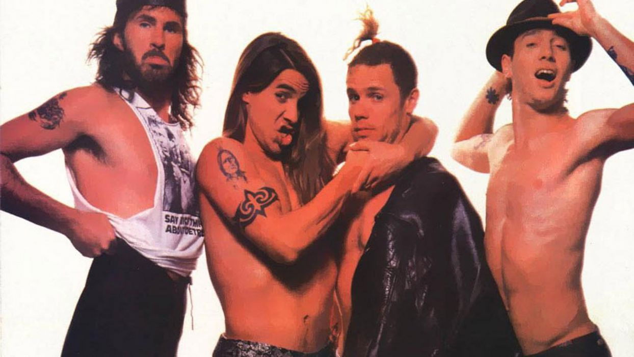 RED HOT CHILI PEPPERS funk rock alternative (38) wallpaper