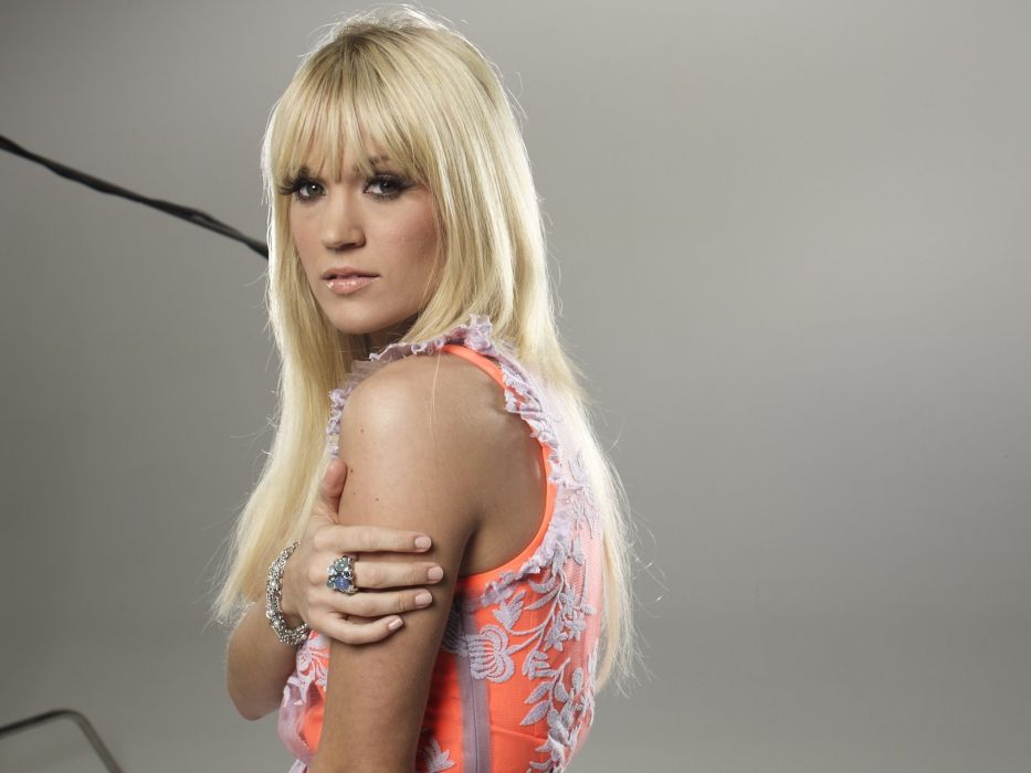 CARRIE UNDERWOOD country pop blonde sexy babe (17) wallpaper