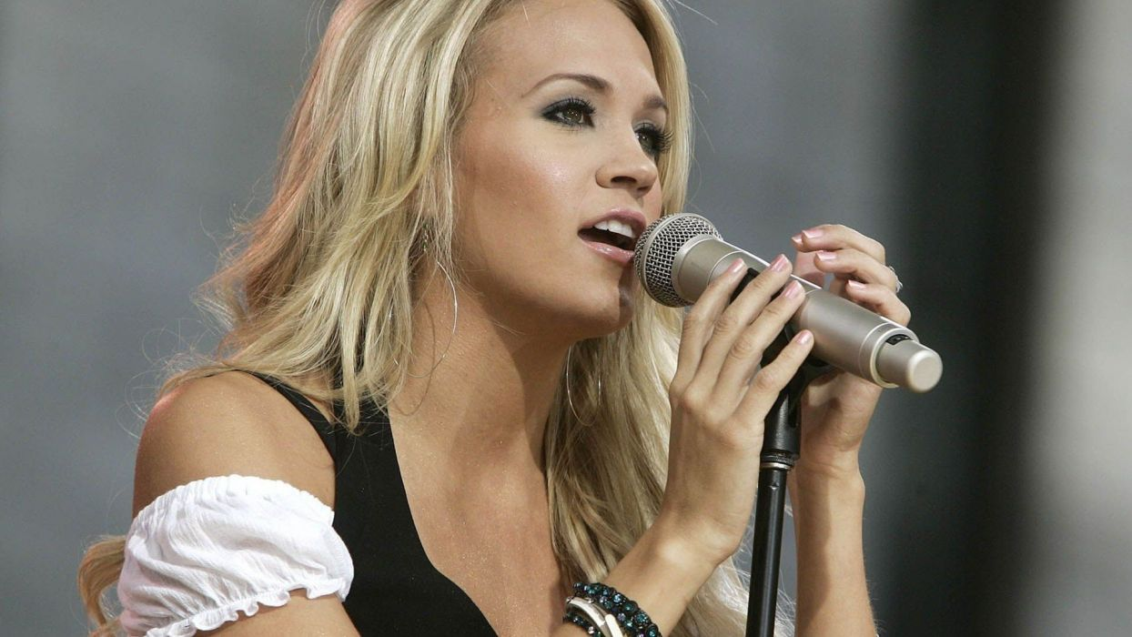 CARRIE UNDERWOOD country pop blonde sexy babe (22) wallpaper