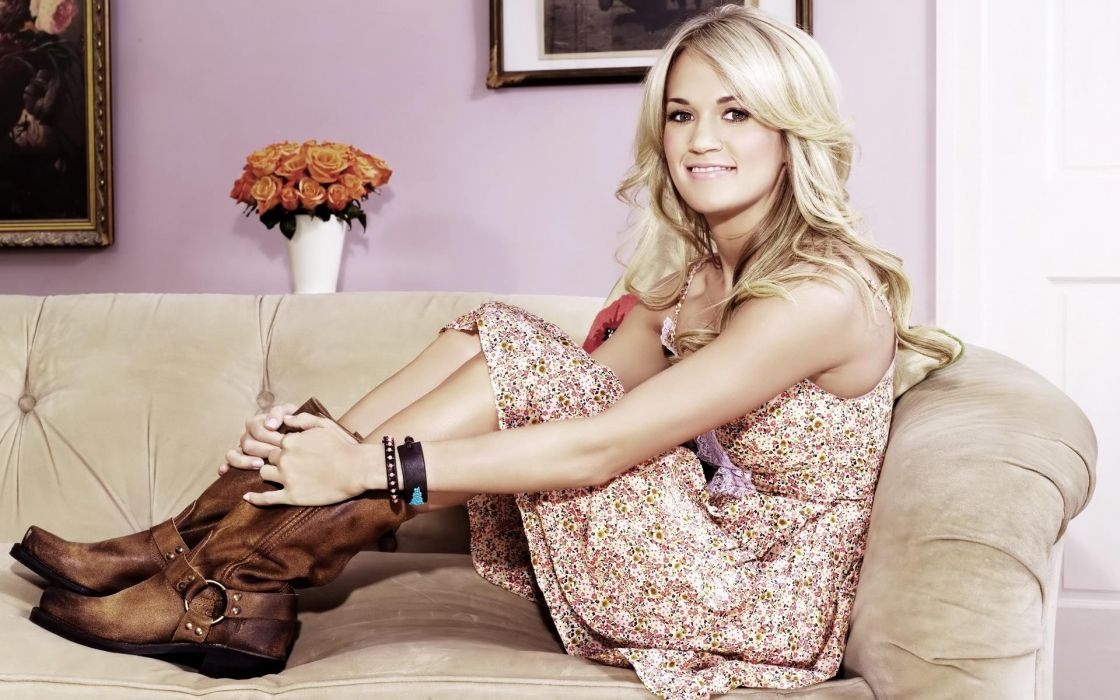 CARRIE UNDERWOOD country pop blonde sexy babe (51) wallpaper