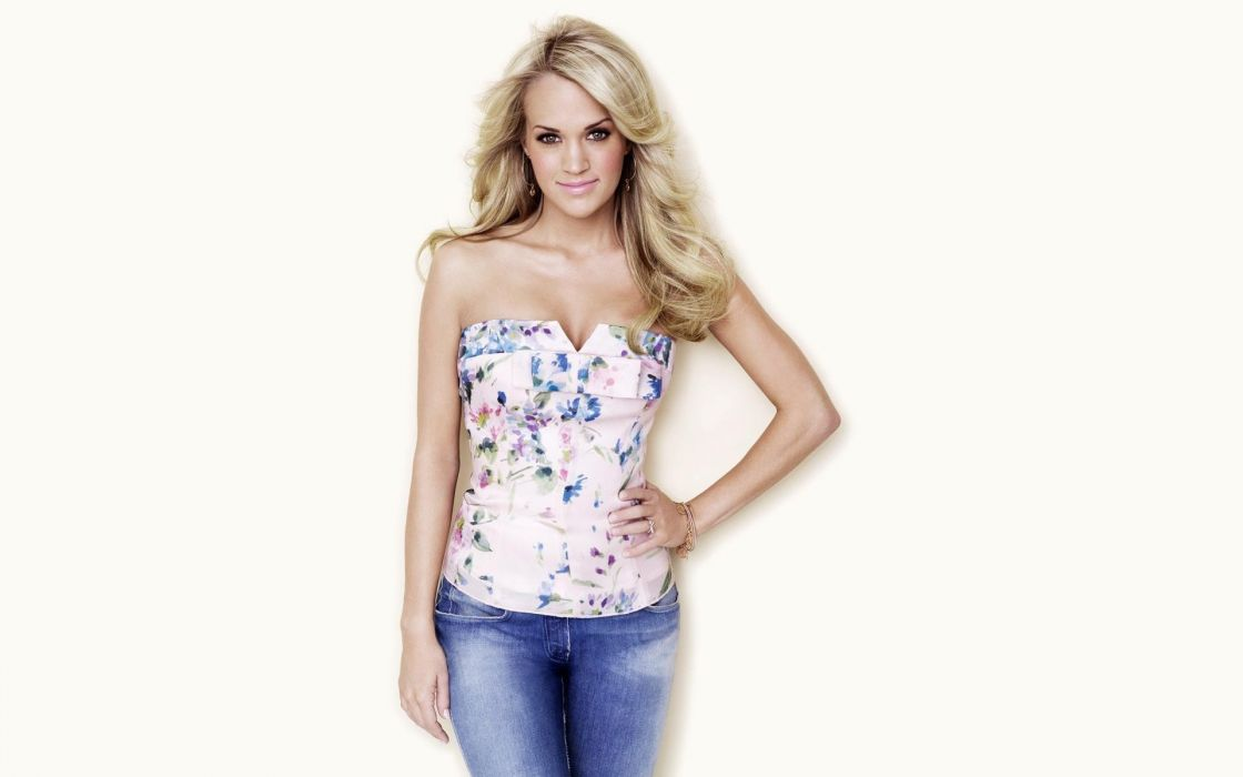CARRIE UNDERWOOD country pop blonde sexy babe (52) wallpaper