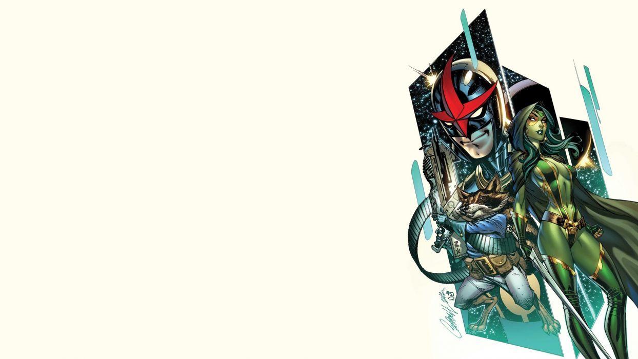 NOVA corps marvel superhero (1) wallpaper
