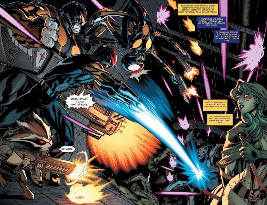 NOVA corps marvel superhero (3) wallpaper
