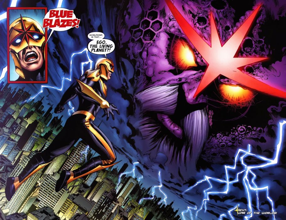 NOVA corps marvel superhero (8) wallpaper