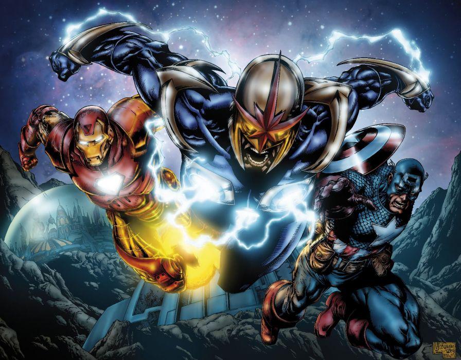 NOVA corps marvel superhero (10) wallpaper