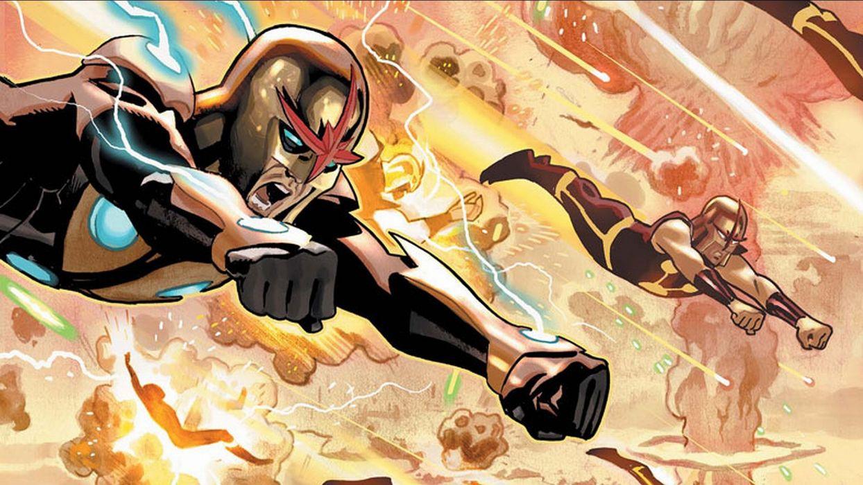 NOVA corps marvel superhero (13) wallpaper
