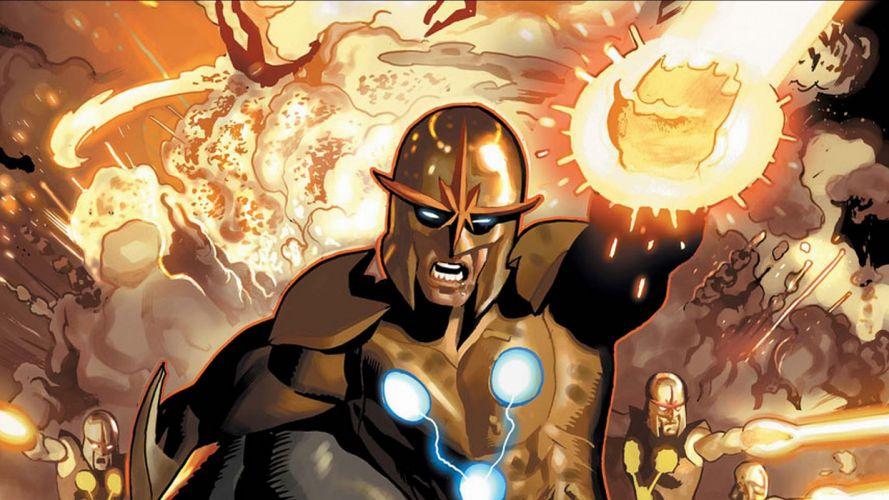 NOVA corps marvel superhero (14) wallpaper