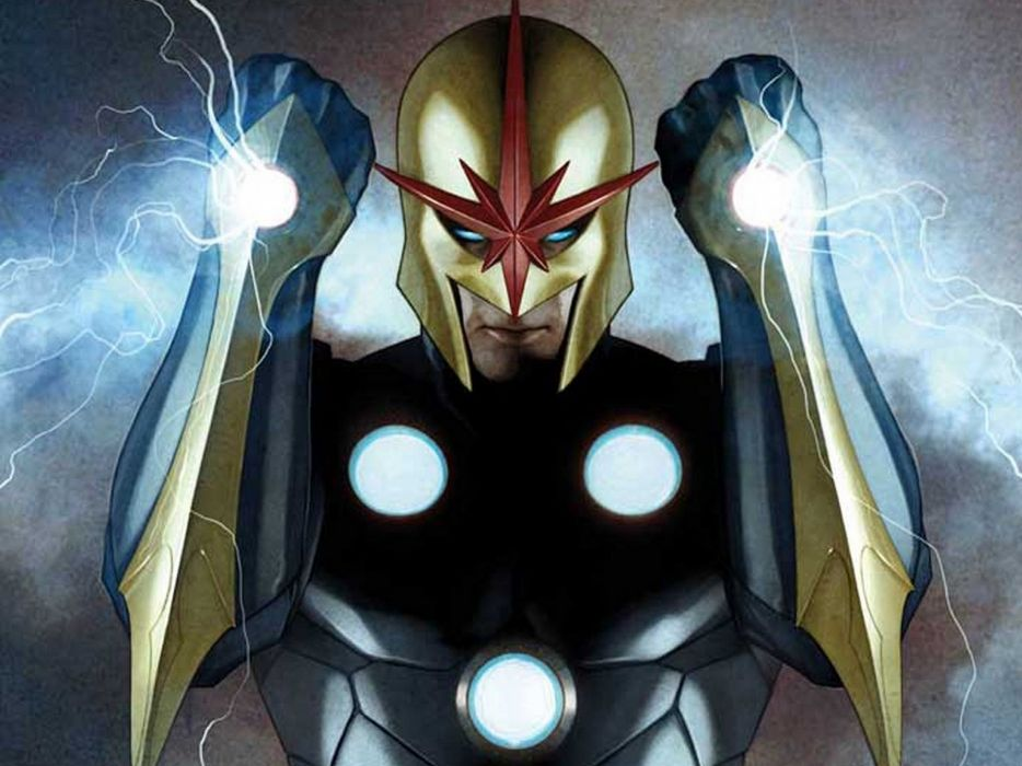 NOVA corps marvel superhero (17) wallpaper