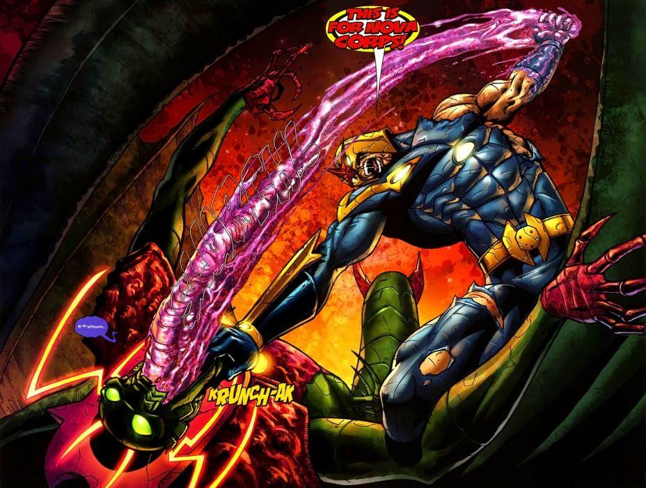 NOVA corps marvel superhero (23) wallpaper