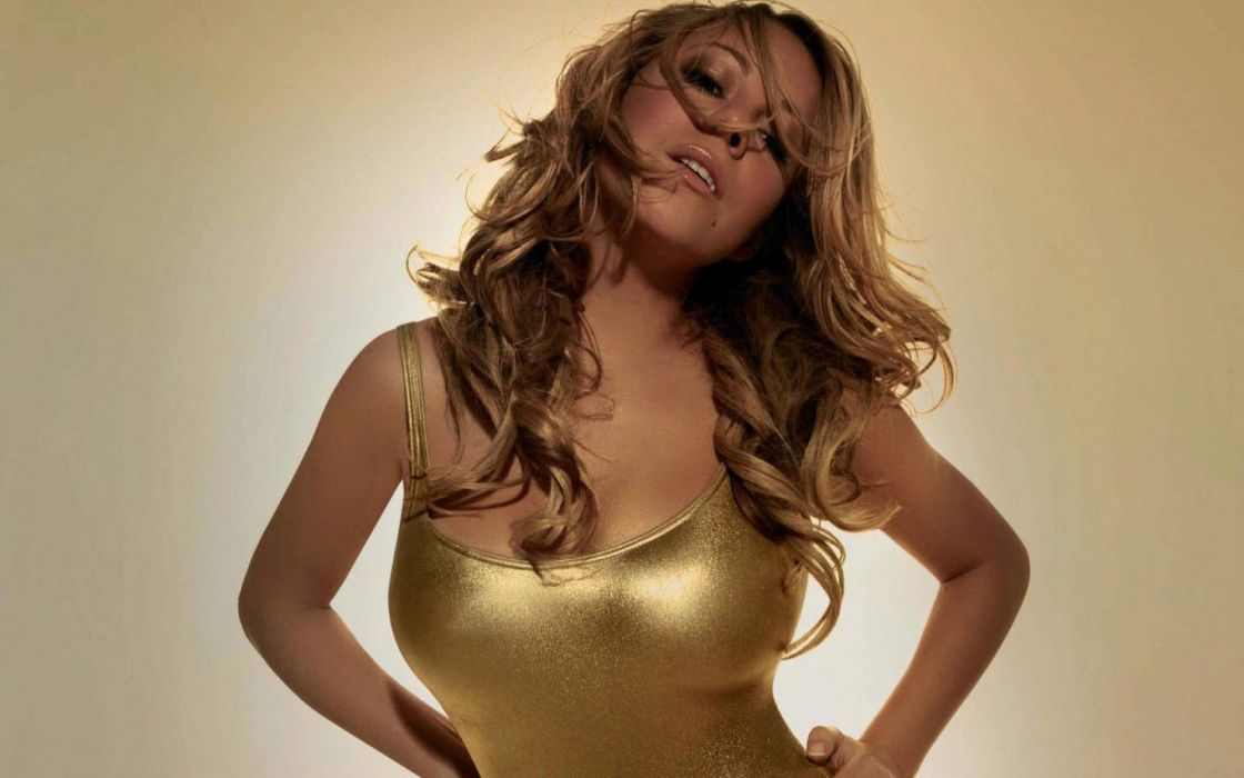 MARIAH CAREY r-b pop hip hop soul dance sexy babe singer (1) wallpaper