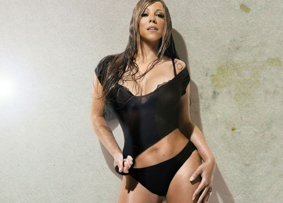 MARIAH CAREY r-b pop hip hop soul dance sexy babe singer (3) wallpaper