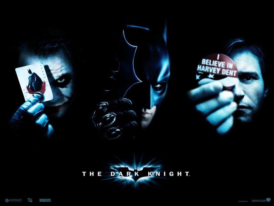 The Joker Two-Face The Dark Knight Harvey Dent wallpaper