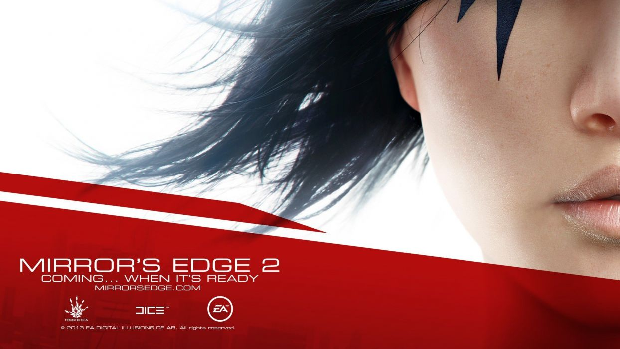 video games Faith Connors Electronic Arts Mirrors Edge 2 wallpaper