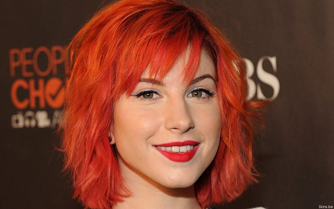 Hayley Williams Paramore celebrity wallpaper