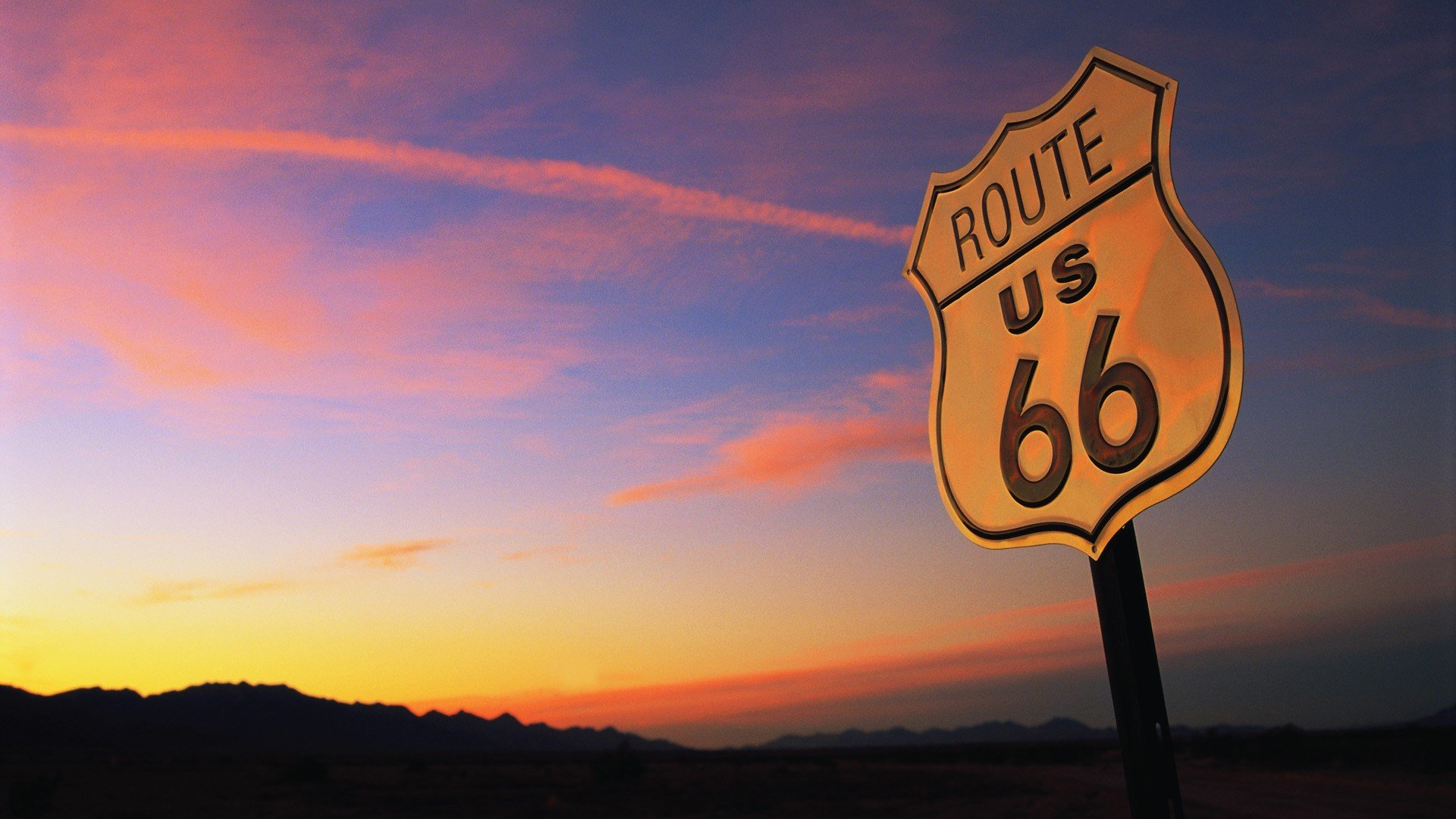 route 66 wallpaper 1920x1080 246700 wallpaperup. Black Bedroom Furniture Sets. Home Design Ideas