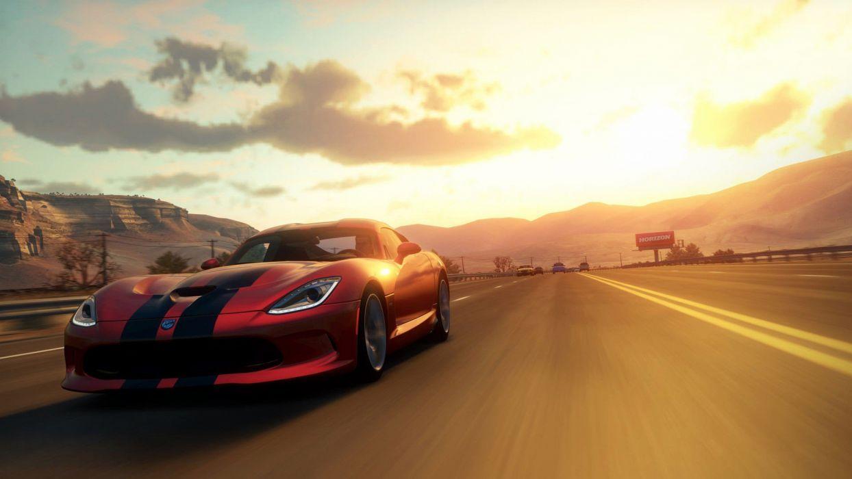 Video Games Cars Xbox 360 Dodge Viper Srt 10 Forza Horizon Wallpaper 1920x1080 246769 Wallpaperup