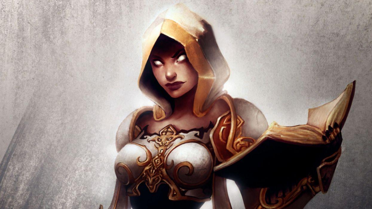 World Of Warcraft Fantasy Art Priest Artwork Wallpaper
