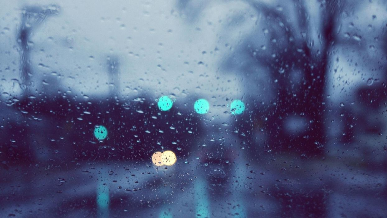 rain window panes rain on glass wallpaper