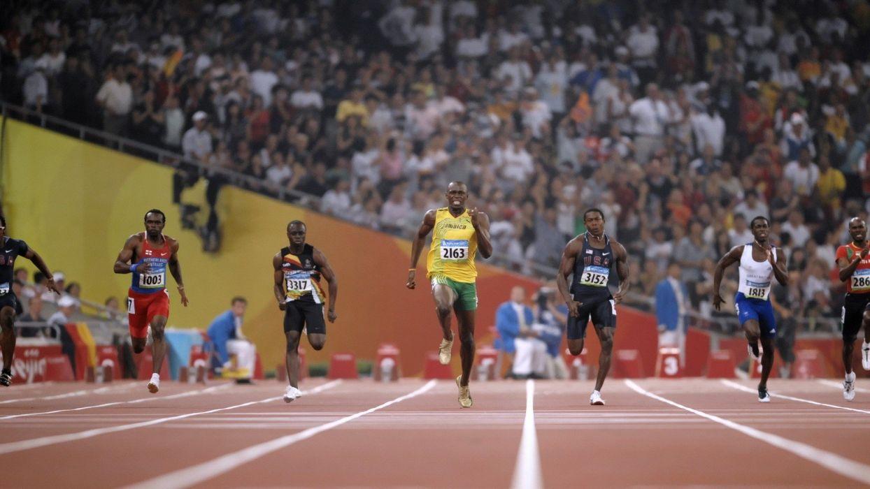 nature sports Jamaica Usain Bolt wallpaper