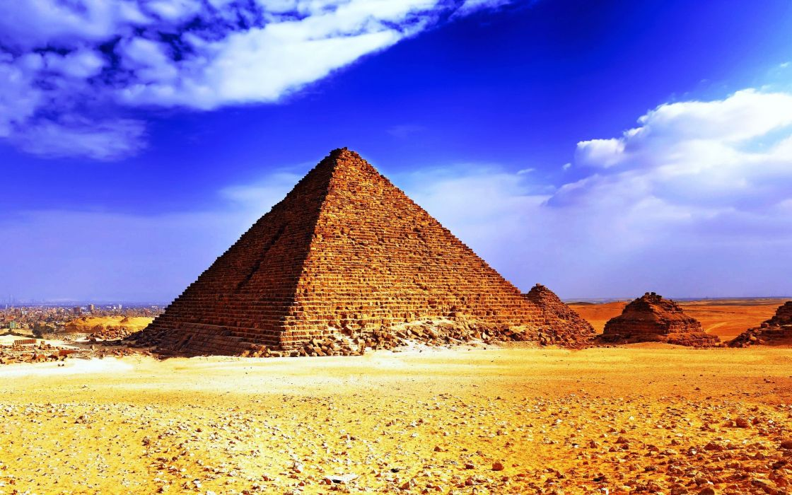 Egypt pyramids Great Pyramid of Giza wallpaper