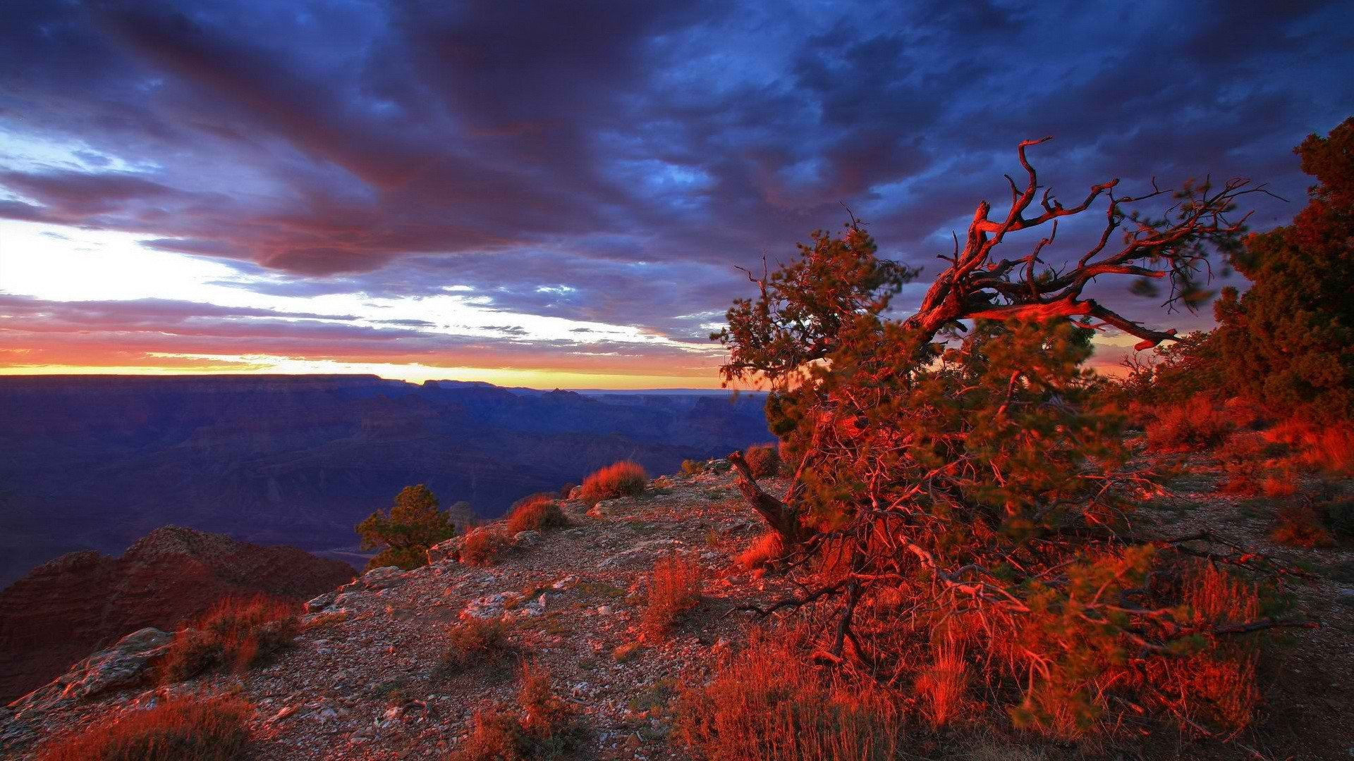 wallpaper sunset mountain arizona - photo #48