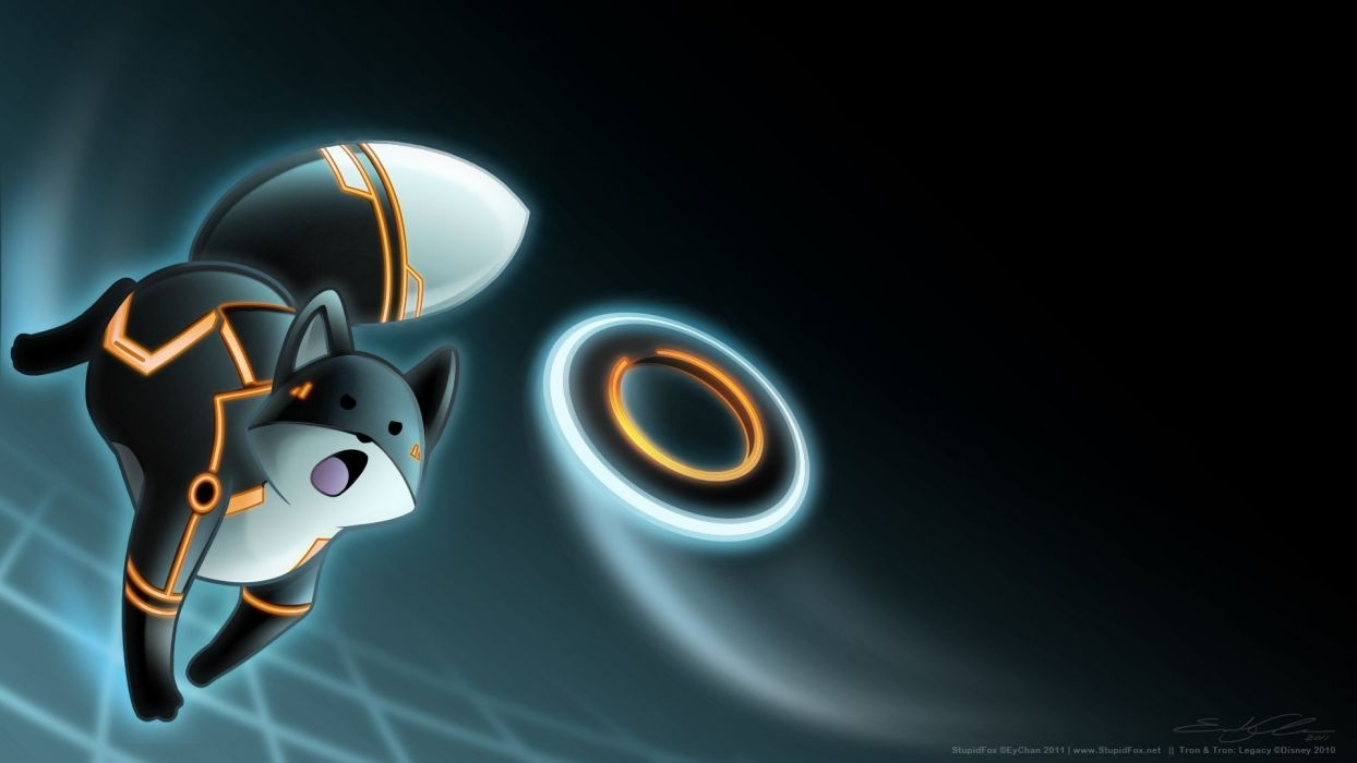 abstract Tron Tron Legacy StupidFox wallpaper