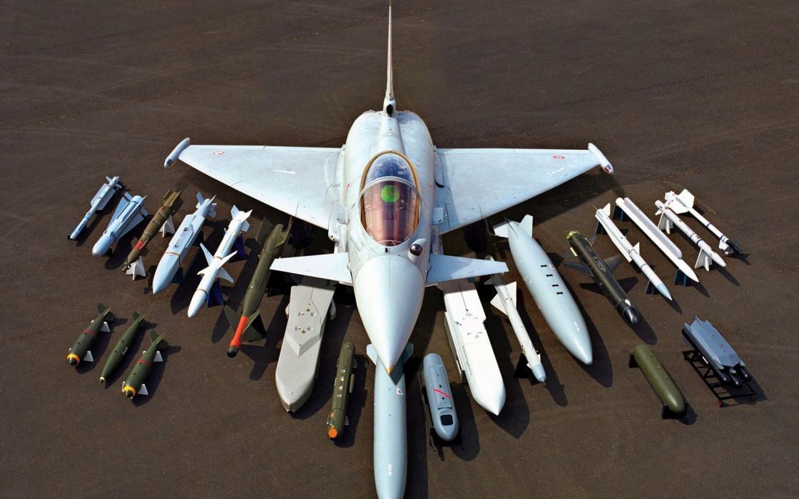 aircraft bomber Eurofighter Typhoon wallpaper