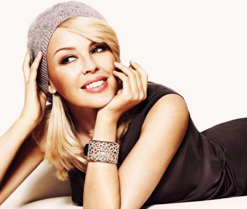 KYLIE MINOGUE pop rock electronic synthpop disco dance sexy babe blonde singer (1) wallpaper