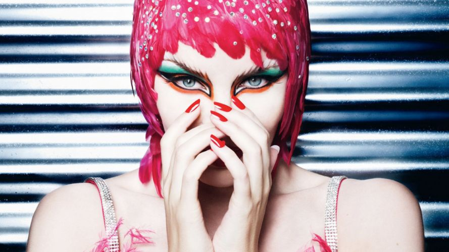 KYLIE MINOGUE pop rock electronic synthpop disco dance sexy babe blonde singer (19) wallpaper