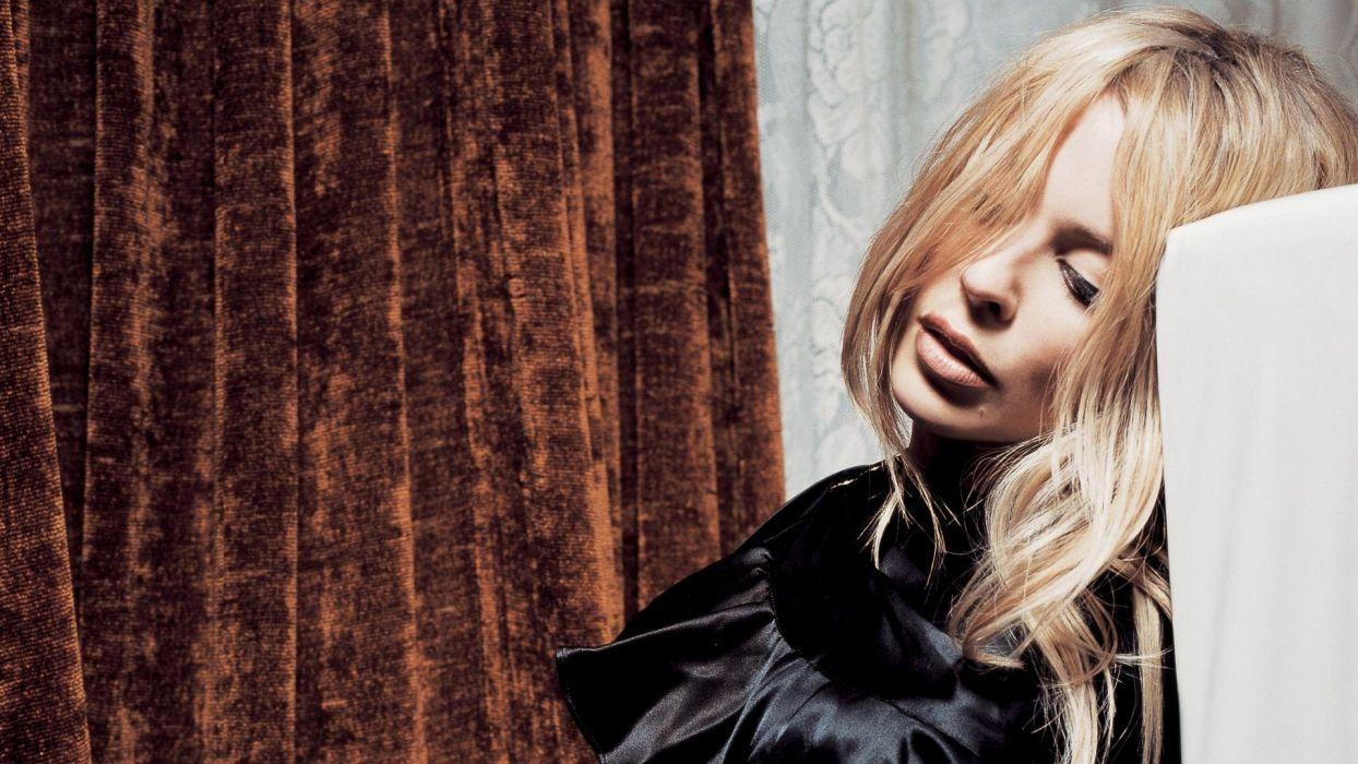KYLIE MINOGUE pop rock electronic synthpop disco dance sexy babe blonde singer (20) wallpaper