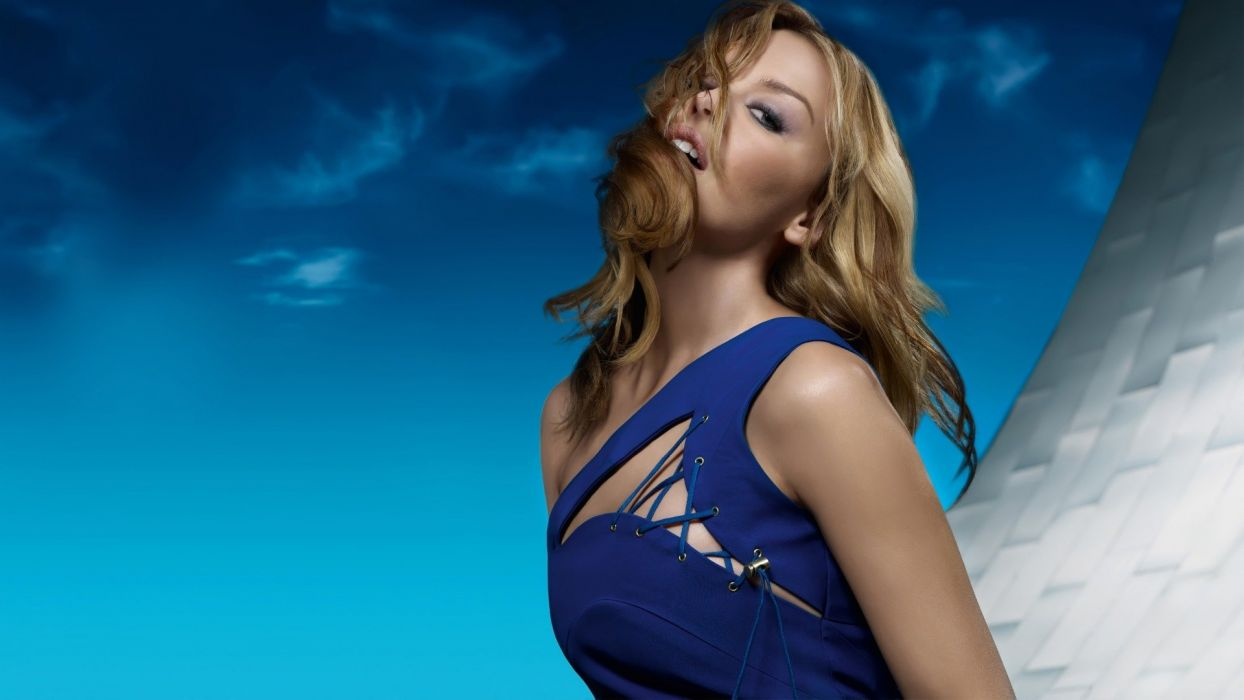 KYLIE MINOGUE pop rock electronic synthpop disco dance sexy babe blonde singer (23) wallpaper