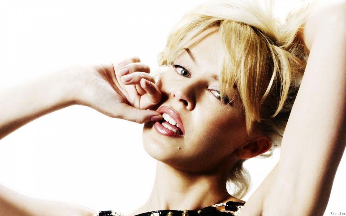 KYLIE MINOGUE pop rock electronic synthpop disco dance sexy babe blonde singer (26) wallpaper