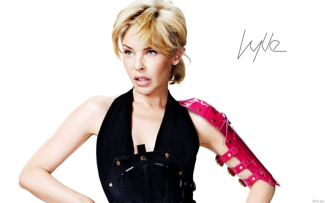 KYLIE MINOGUE pop rock electronic synthpop disco dance sexy babe blonde singer (30) wallpaper