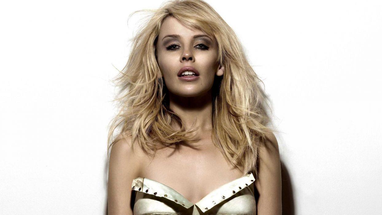 KYLIE MINOGUE pop rock electronic synthpop disco dance sexy babe blonde singer (37) wallpaper