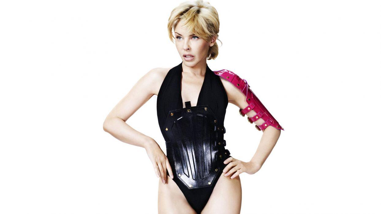 KYLIE MINOGUE pop rock electronic synthpop disco dance sexy babe blonde singer (44) wallpaper