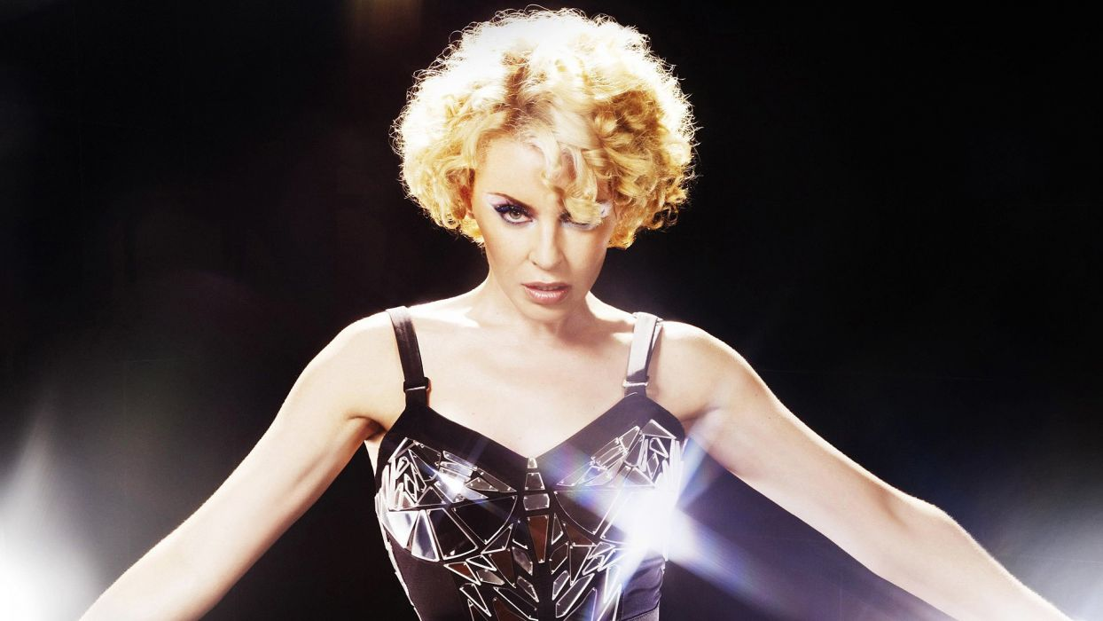 KYLIE MINOGUE pop rock electronic synthpop disco dance sexy babe blonde singer (45) wallpaper