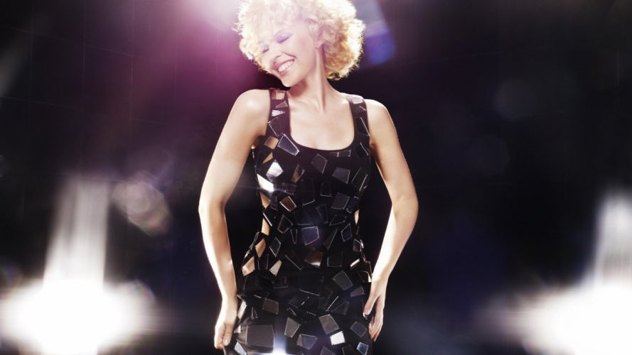 KYLIE MINOGUE pop rock electronic synthpop disco dance sexy babe blonde singer (48) wallpaper