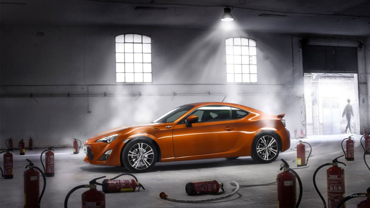 cars Toyota Toyota GT86 fire extinguishers gt 86 wallpaper