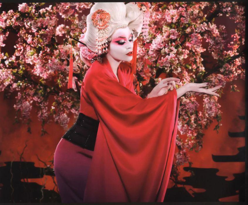 KYLIE MINOGUE pop rock electronic synthpop disco dance sexy babe blonde singer (77) wallpaper