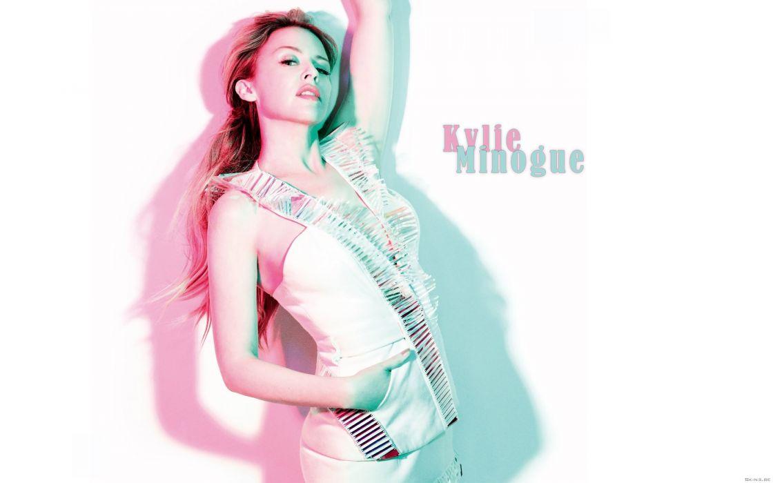 KYLIE MINOGUE pop rock electronic synthpop disco dance sexy babe blonde singer (88) wallpaper