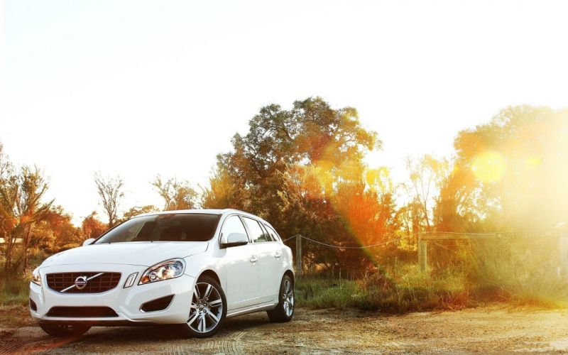 cars Volvo sunlight vehicles Volvo V60 wallpaper