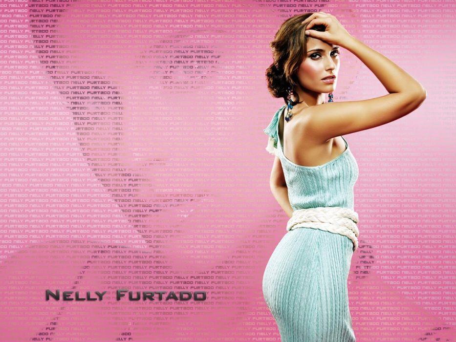 NELLY FURTADO folk r-b latin hip hop dance pop world babe brunette singer (34) wallpaper