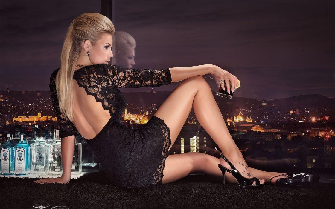 leonie hagmeyer-reyinger miss tuning 2014 sexy blonde babe wallpaper