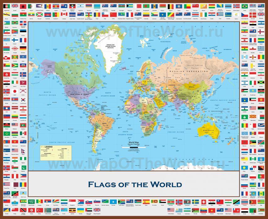 map world flag wallpaper
