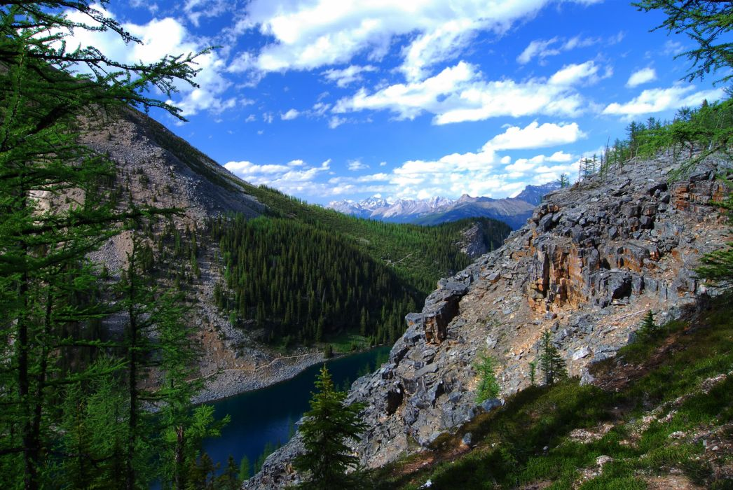 Lake Louise Alberta Canada wallpaper