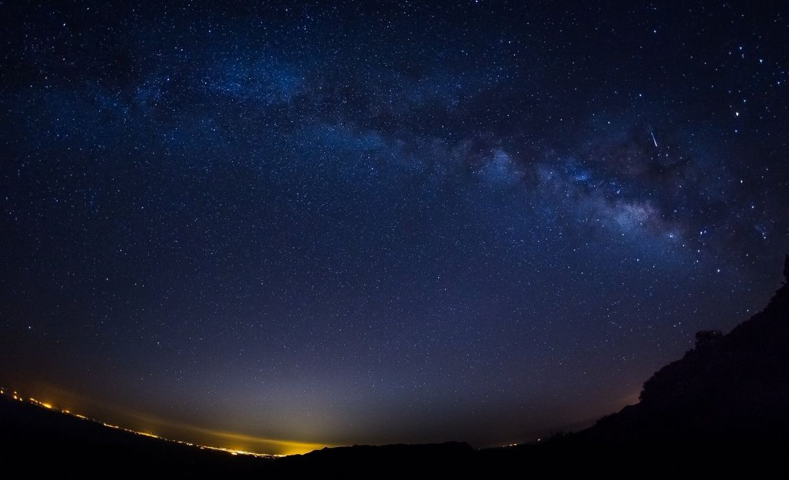 night stars starry sky wallpaper