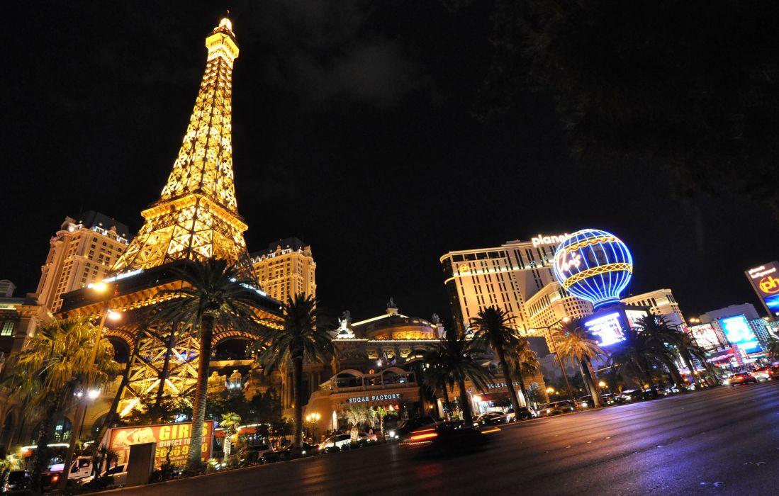 Las Vegas USA Nevada eiffel tower wallpaper